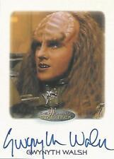 """Women of Star Trek - Gwynyth Walsh """"B'Etor"""" Autograph Card"""