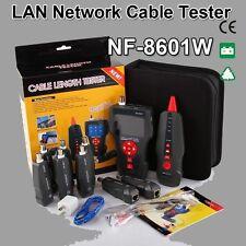 New Noyafa NF-8601W RJ45 LAN Network Cable Tester UTP STP Diagnose Tone Tracer