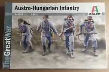 ITALERI 6528 - AUSTRO-HUNGARIAN INFANTRY - 1/35 PLASTIC KIT NUOVO