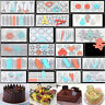 Silicone Chocolate Fondant Mold Candy Cake Decor DIY Sugarcraft Baking Tool