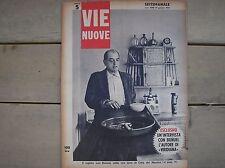 LUIS BUNUEL VIRIDIANA COPERTINA VIE NUOVE COVER ITALIAN MAGAZINE 1963 CINEMA