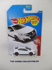 Hot Wheels  '16 Honda Civic 1 /10 Type R 1:64 Die Cast NEW  Great Christmas Idea