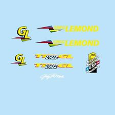 LeMond Ti 3/2.5 GL Bicycle Decals, Transfers, Stickers n.25