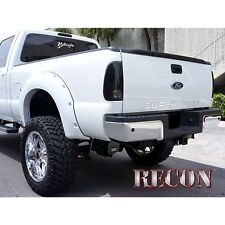 RECON 264181CHBK 08-15 Fords Superduty Acrylic Chrome Black Emblem Raised Logo