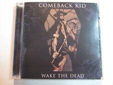COMEBACK KID WAKE THE DEAD PROMO ADVANCE CD OF FULL ALBUM 2005 HARDCORE ROCK OOP