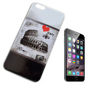 "COVER CASE CUSTODIA COMPATIBILE APPLE IPHONE 6 PLUS 5.5 "" ITALIA ROMA BIANCO Y"