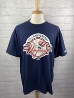 Vintage New York Yankees 100th Anniversary T-Shirt Mens Size XL Russell Athletic