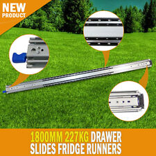 NEW 1800MM 227kg Drawer Slides Fridge Runners Heavy Duty 4WD 4X4 Ball Bearing