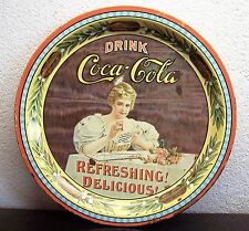 Vintage Coca-Cola 75th Anniversary Serially Numbered Commemorative Tray # 60741