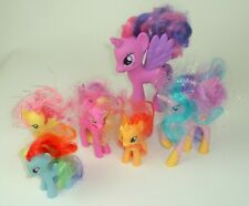 My Little Pony 2010 2011 Lot of 6 Unicorns Wings
