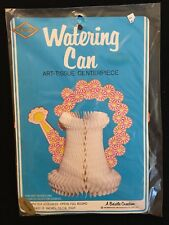 Beistle Vintage 1981 (Yellow) Watering Can Wedding Baby Shower Table Decoration