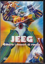 Dvd **JEEG CONTRO I MOSTRI DI ROCCIA** nuovo sigillato 1979