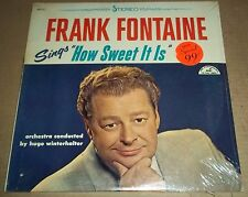 FRANK FONTAINE Sings How Sweet It is - ABC ABCS-470 SEALED