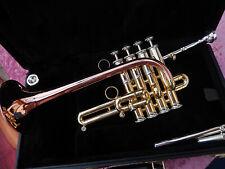 """Neuw. Piccolo -Trompete B/A """"GETZEN - Mod.: Custom -Serie - 3916-L"""" REDUZIERT!!!"""