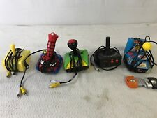 Jakks Pacific Ms. Pac-Man  Frogger Atari Spider-Man & Spongebob Tested B8
