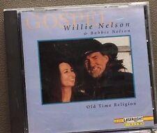 WILLIE NELSON & BOBBIE NELSON - OLD TIME RELIGION - 11 TRACK  CD - LIKE NEW E814