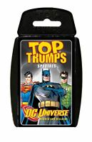 Top Trumps - DC Comics Card Game or Hero vs Villan  Assorted - Random Supplied 1