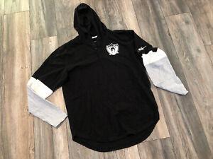 Nike Las Vegas Raiders Nike Shirt Hoodie Men's Large New Condition