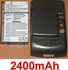 Case + Battery 2400mAh type 338937010127 EM3T171103C12 For Mitac Mio A500