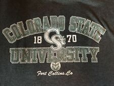 Colorado State Rams, Ft Collins Russell Athletics Worn Soft Large