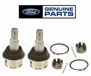 Set of 2 Front Lower Ball Joints Assy OES For Ford E-150 E-450 F-250 Super Duty