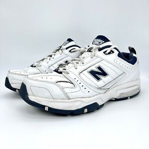 New Balance Mens 608 V2 MX608V2W White Running Shoes Lace Up Low Top Size 9 4E