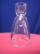 ROSENTHAL CRYSTAL Sake ? Bar Ware ? Beverage ? Vase ? Thumbprint Pattern