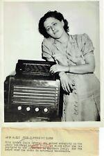 Axis Sally Rita Louisa Zucca Original 7x9 Inch Associated Press Photograph
