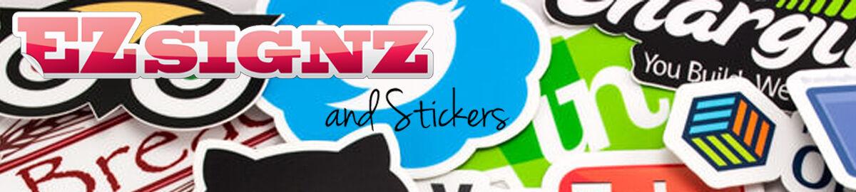 Ezsignz and Stickers