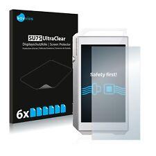 6x Film Protection pour Pioneer XDP-100R Écran Protecteur Clair