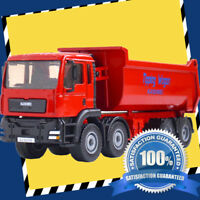 1/50th 1:50 Dump Truck Diecast Lorry Vehicle Action Model Toys Boys Girls Gift