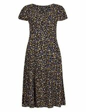 Marks and Spencer Viscose Floral Dresses Midi