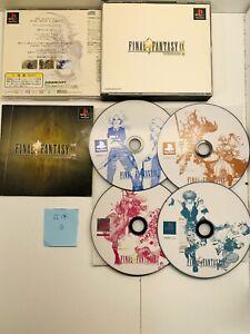 [1] FINAL FANTASY IX JEU JAP PLAYSTATION 1 NTSC-J/SONY/PS1/PS2/PS3/PS4/PSX