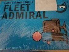 Fleet Admiral - Board Game Castle Games New!