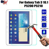 Samsung Galaxy Tab 3 10.1 P5200 P5210 Tempered Temper Glass Screen Protector