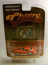 1967 '67 CHEVY CHEVROLET CORVETTE CHEERS HOLLYWOOD DIECAST GREENLIGHT 2017