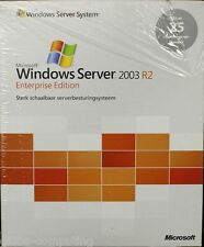 Microsoft Windows Server 2003 R2 Enterprise Edition 25 CAL olandese p72-01746