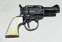 Vintage 1950s Gambler by Lone Star Black Distressed Potato Pellet Toy Gun
