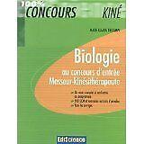Marie Claude Descamps - Biologie au concours d'entrée masseur-kinésithérapeute -
