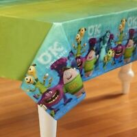 Monsters University Mike and Sully Plastic Tablecover Table Cover