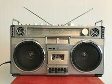 CROWN CSC-850 Portable Radio Cassette Recorder boombox ghettoblaster