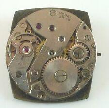 Vintage Benrus AR 15 Mechanical  Wristwatch Movement - Parts / Repair