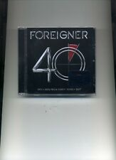 FOREIGNER - 40 - NEW CD!!