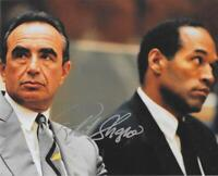 Robert Shapiro prominent lawyer autograph 8x10 photo Trail of the Century signed