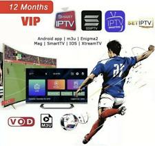 IP TV Smarters Pro smart ip tv Abonnement 12 mois ✔️RMC✔️SMART TV✔️ANDROID✔️MAG✔
