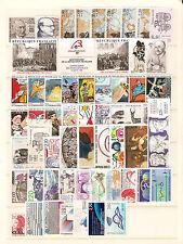 FRANCE - 1988 - année complete - Yvert # 2501/2559 - état: neufs (**)