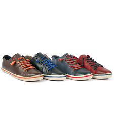 2020 Fashion Men Casual Leather low top  Lace-up sneakers shoes