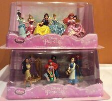 Disney Princess Cake Toppers Play Set Figures 12 Piece Rapunzel Cinderalla NEW