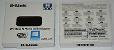 D-link DWA-131 Wireless Network WiFi N300 Nano USB Adapter Dongle Win8 Mac Linux