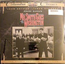 Mr. Smith Goes To Washington Laserdisc Ld James Stewart shrink tear Sealed fr/sh